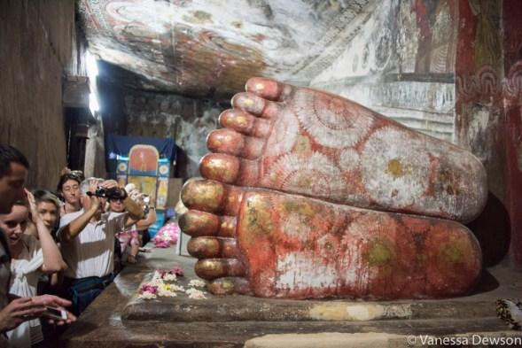 Buddha, cave temple, Dambulla, Sri Lanka