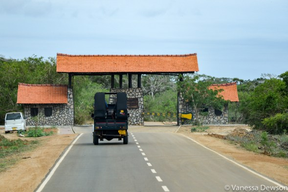 Yala National Park entrance