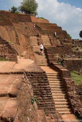 Ruins on top of Sigiriya