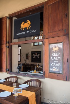 Ministry of Crab restaurant