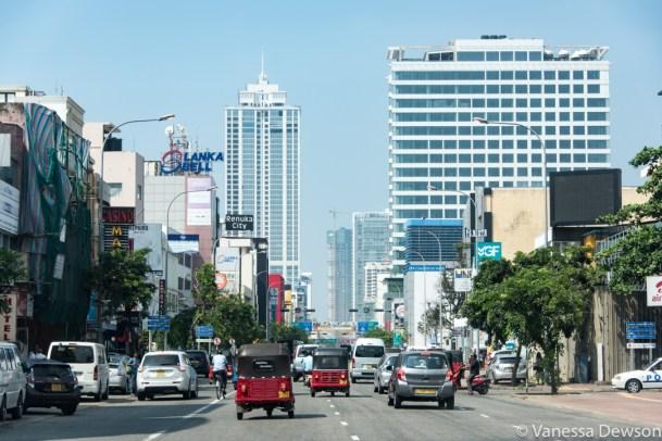 Traffic in Colombo