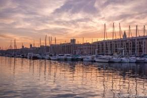 Sunset in Marseille. Photo by: Vanessa Dewson