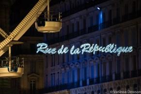 Rue de la République sign. Photo by: Vanessa Dewson