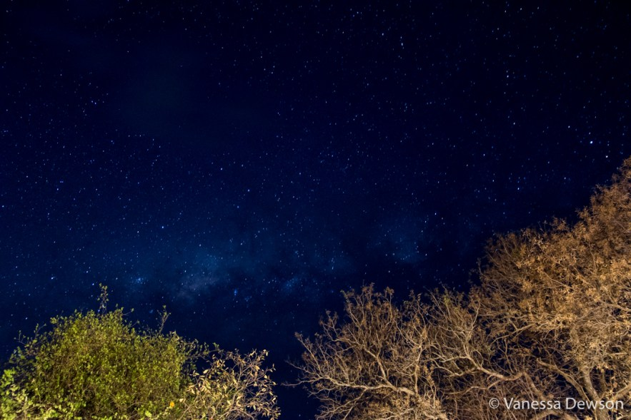 The milkyway in the Southern Hemisphere