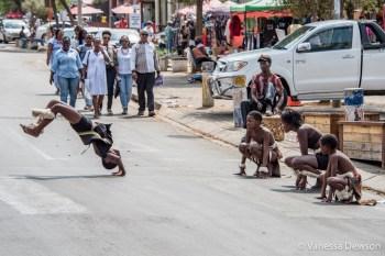 Street Performers in Soweto