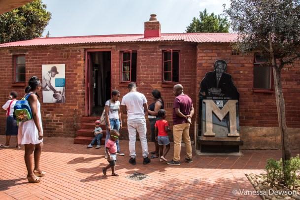 Visiting Mandela's House