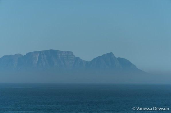 Devil's Peak from Gordon's Bay