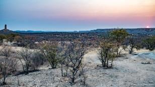 Vingerklip & the rising sun
