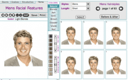 men's virtual hairstyle makeovers