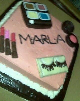 Recipe For Beauty Make Up Junkie D I Y Birthday Cake