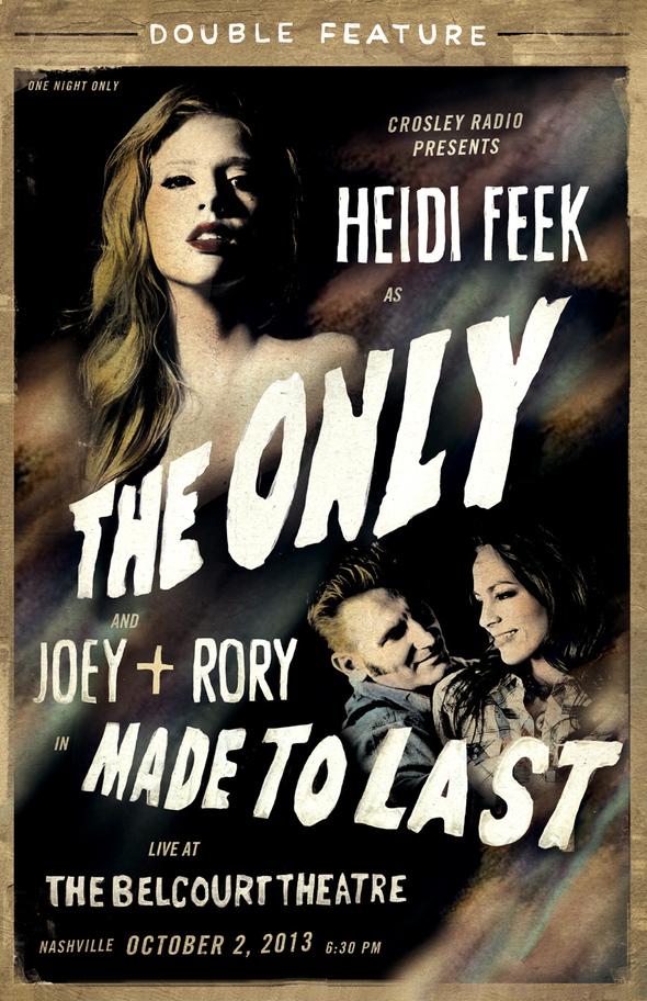 Heidi Feek Belcourt Release Show Featuring Joey+Rory