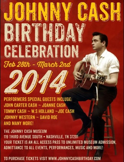 Johnny Cash Birthday Bash