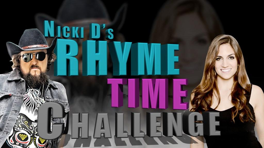 Nicki D's Rhyme Time Challenge