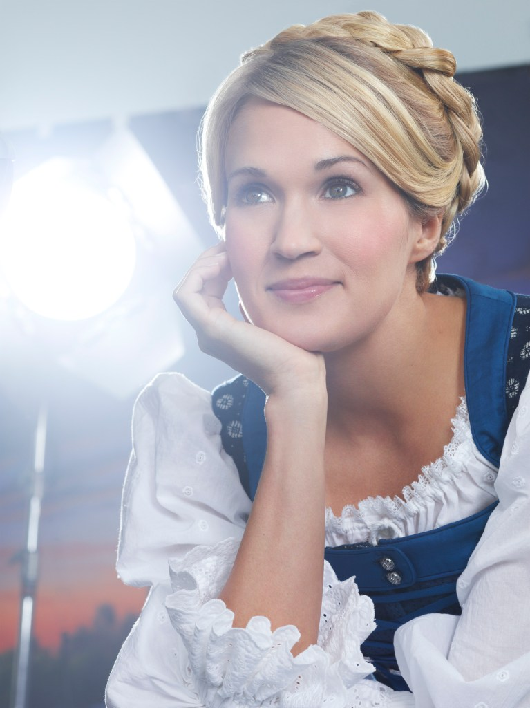THE SOUND OF MUSIC -- Season: 2013 -- Pictured: Carrie Underwood as Maria -- (Photo by: Nino Munoz/NBC)