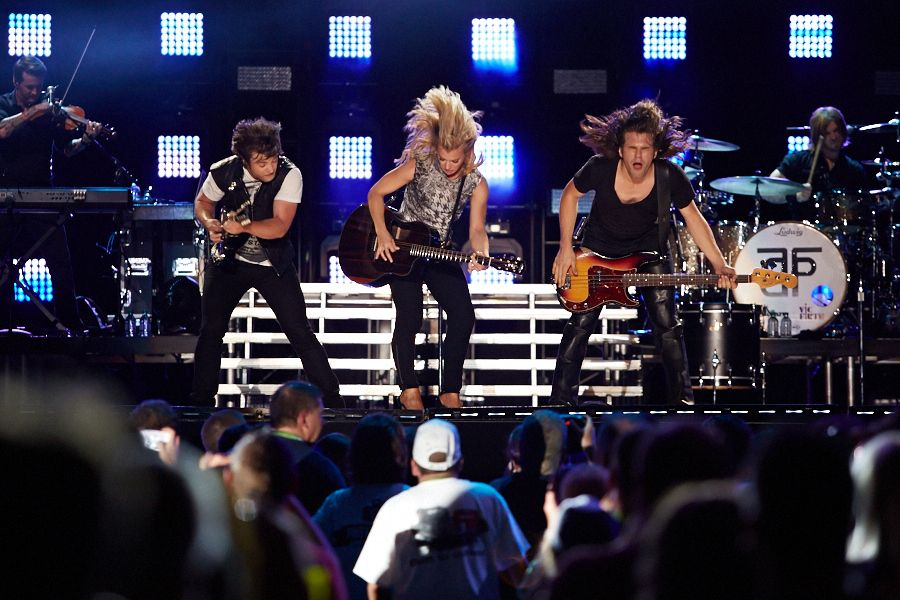 The Band Perry performs as part of CMA Music Festival.   Photo credit: Courtney Davidson