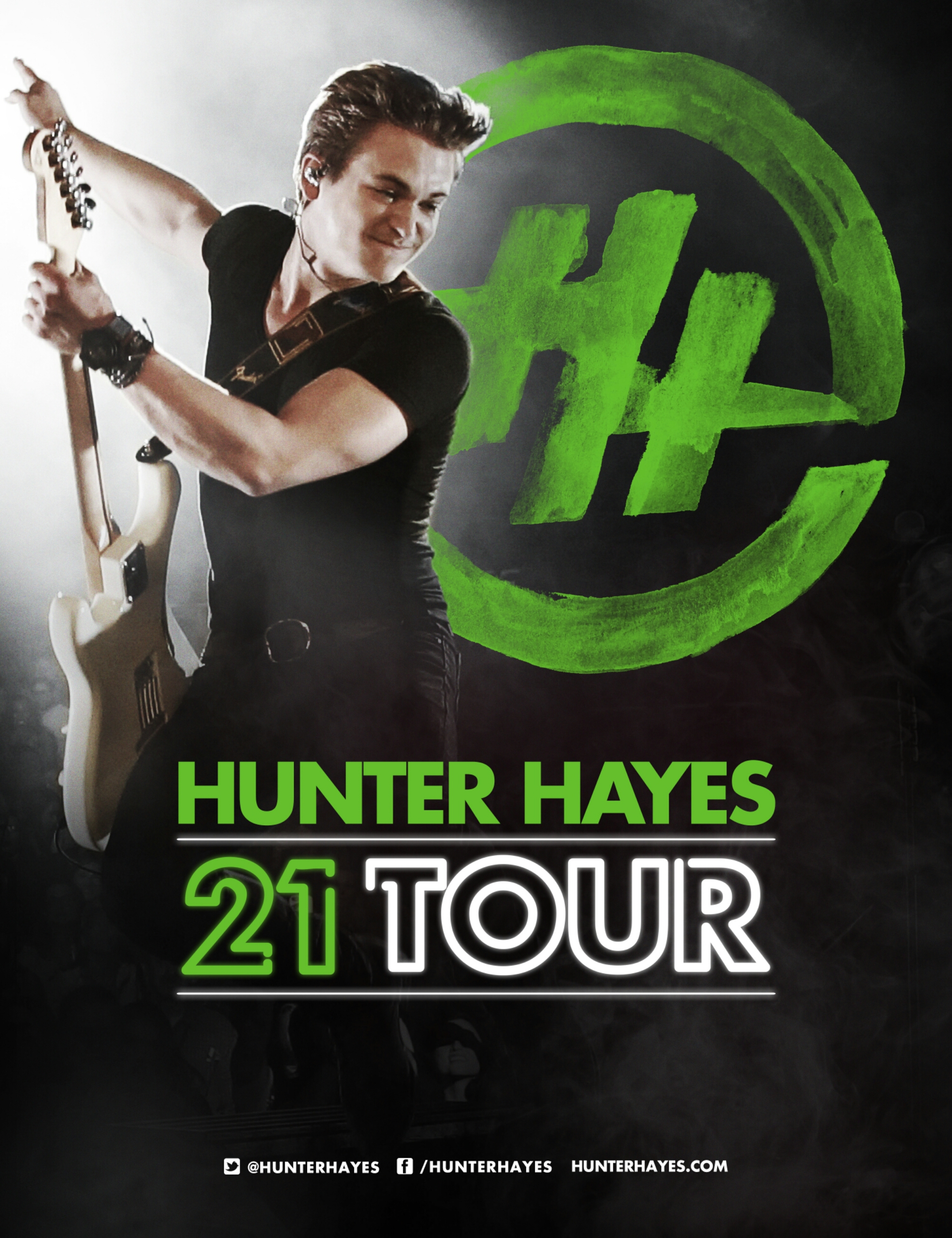 Hunter Hayes Routes 21 Tour And Rewards Biggest Fans