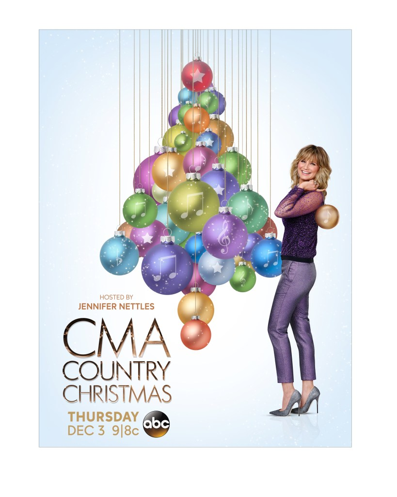 Jennifer Nettles CMA Country Christmas