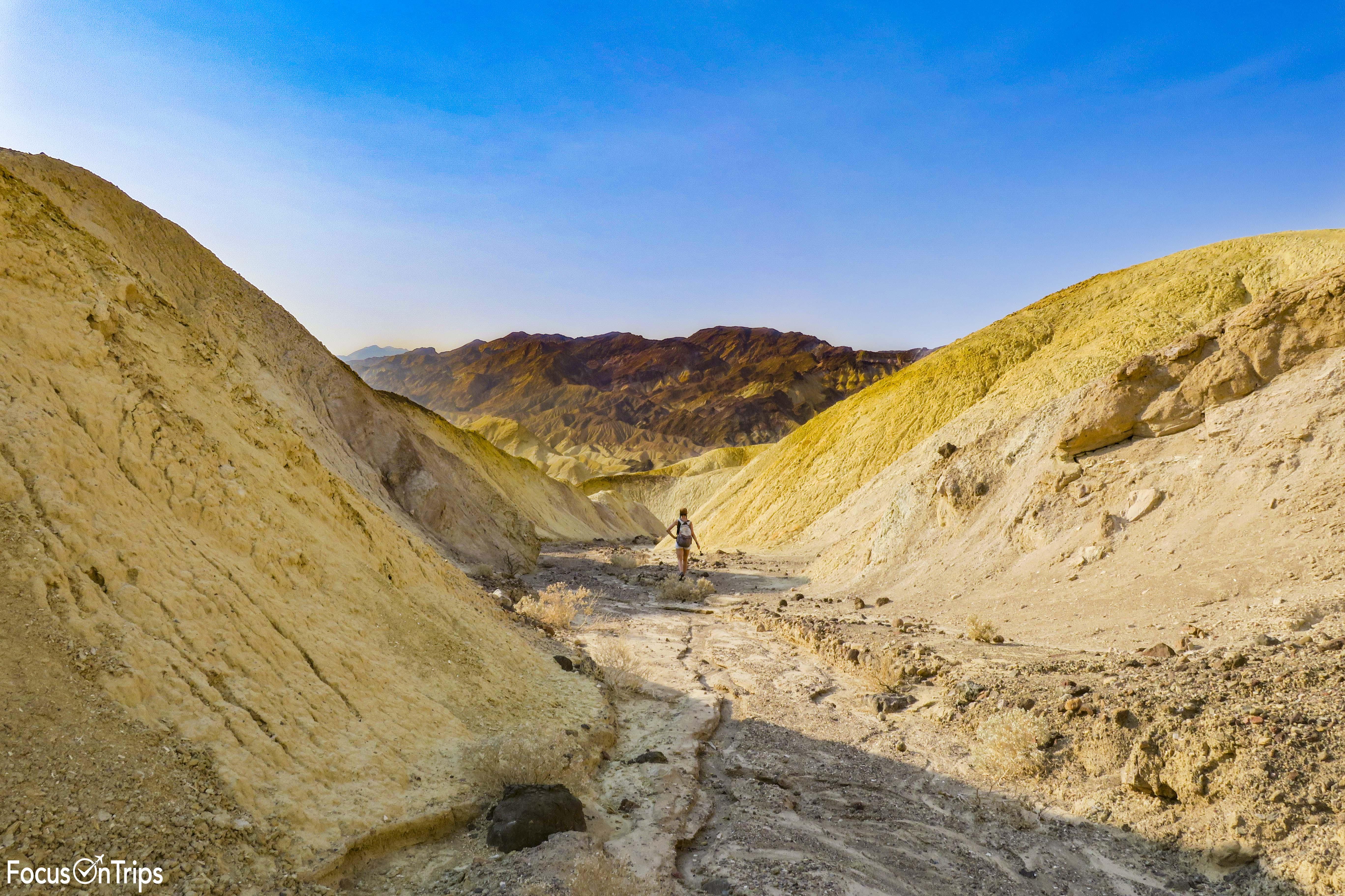 Death Valley Badlands Loop