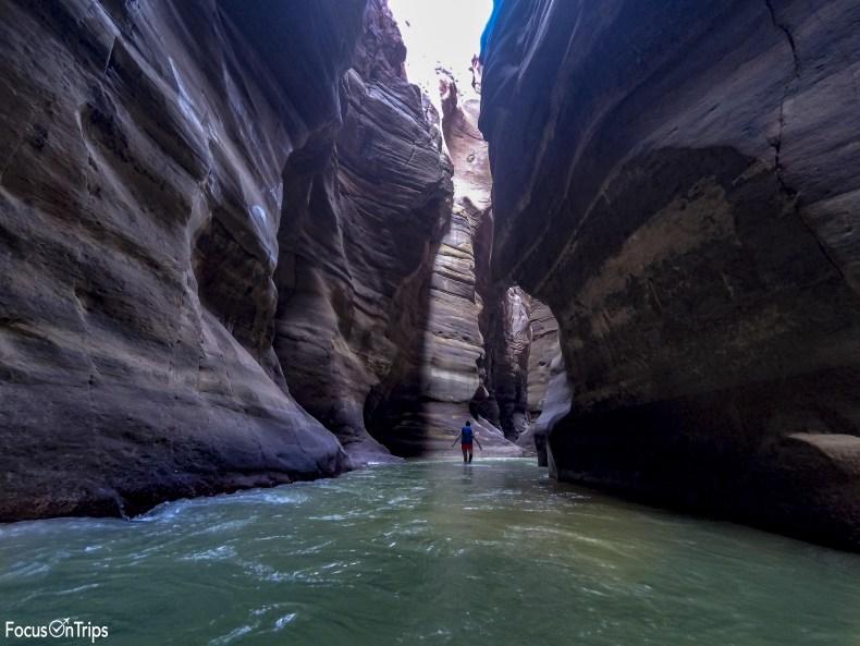 Canyoning Wadi Mujib Giordania