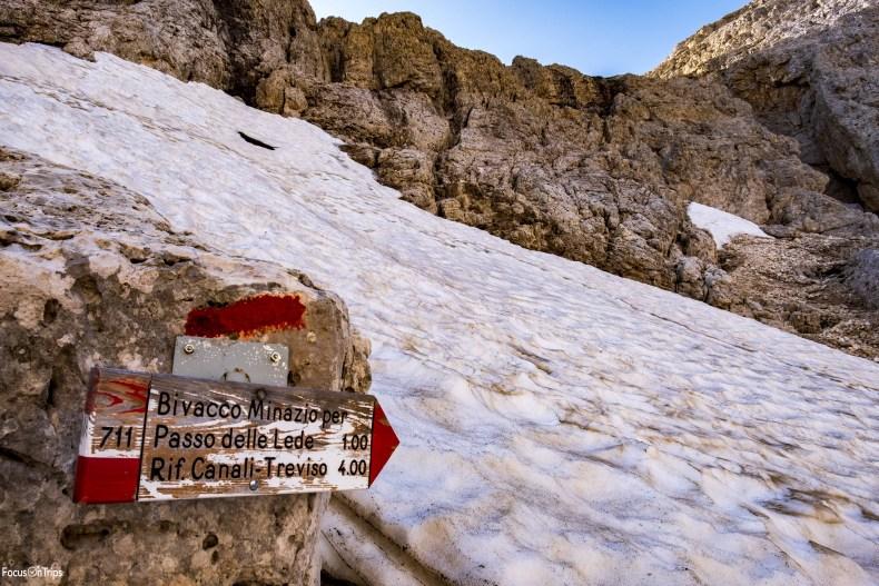 Trekking 711 passo delle Lede
