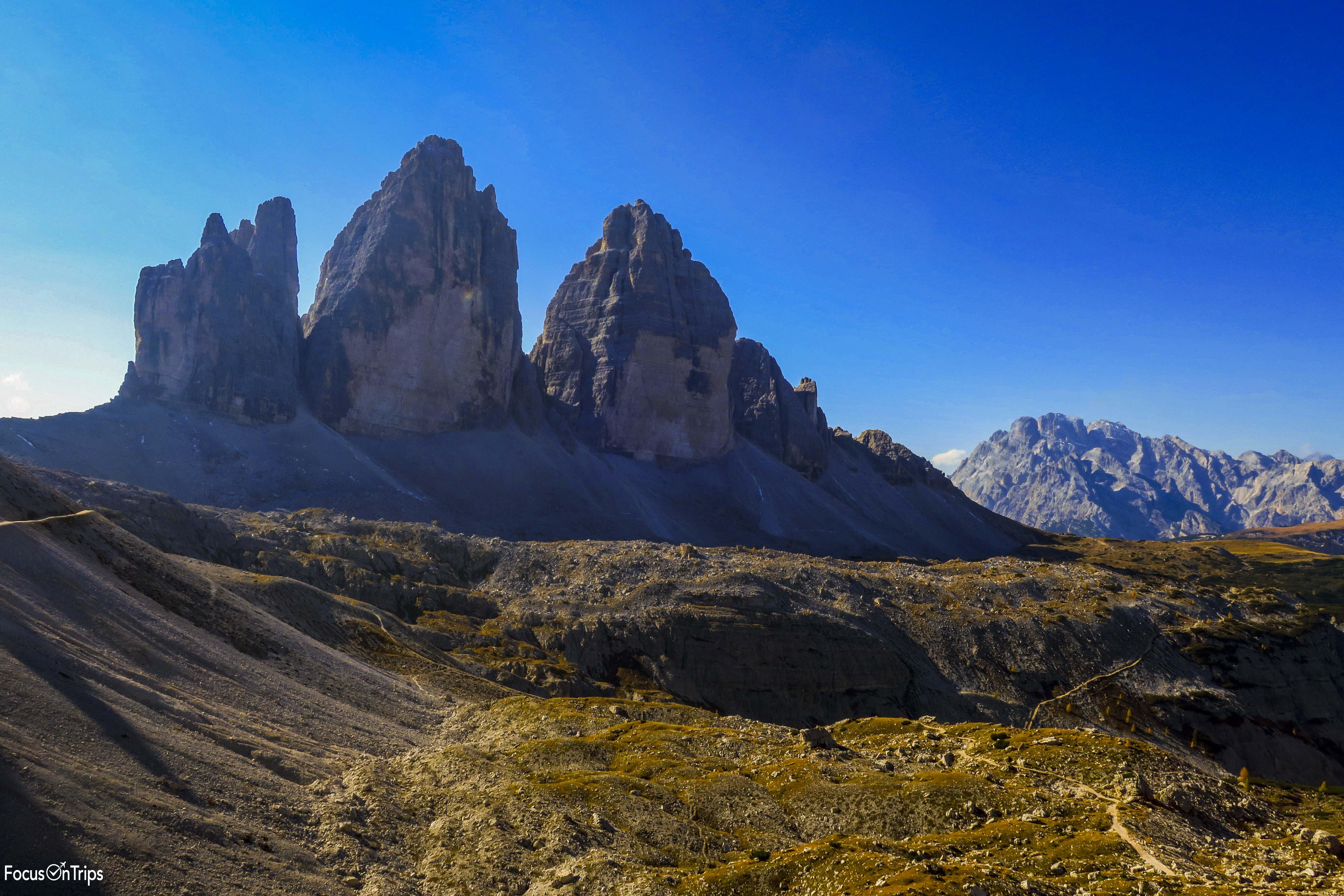 Tre cime di Lavaredo trekking