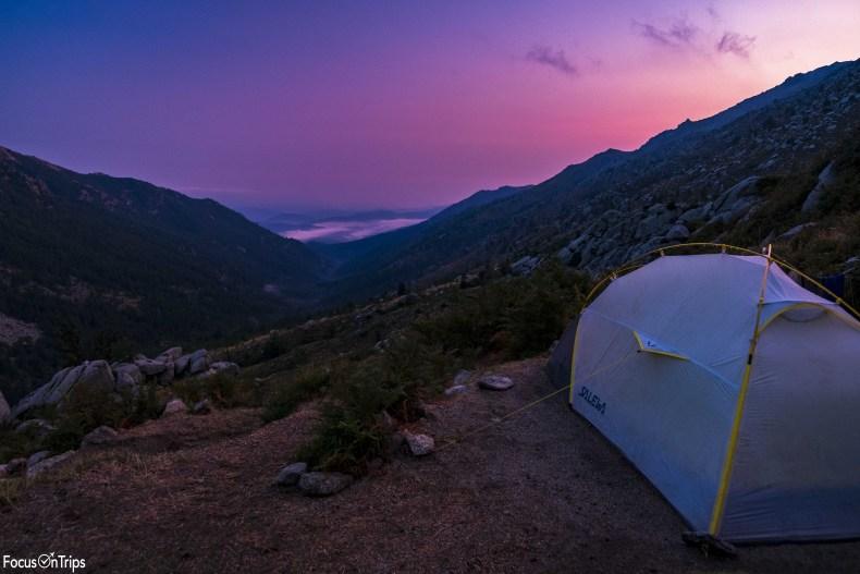 GR20 trekking tenda