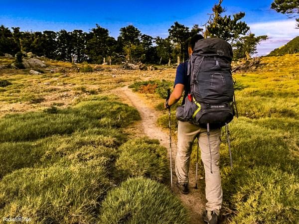 gr20 cosa portare trekking