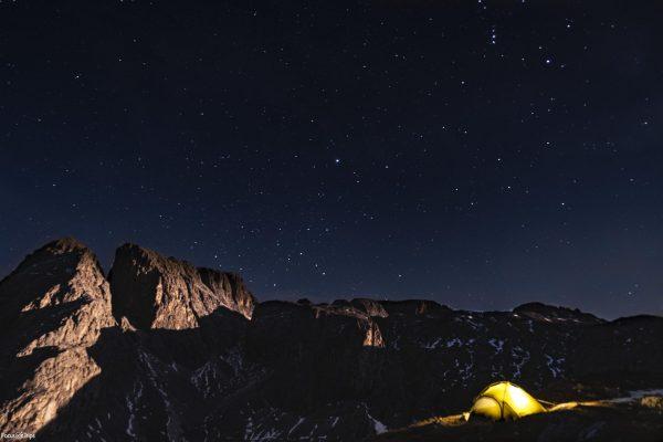 tenda Salewa - stars - trekking