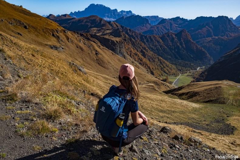 trekking rifugio Padon passo Fedaia
