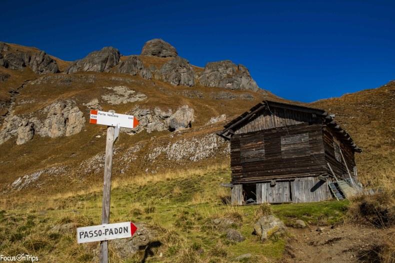 trekking passo fedaia