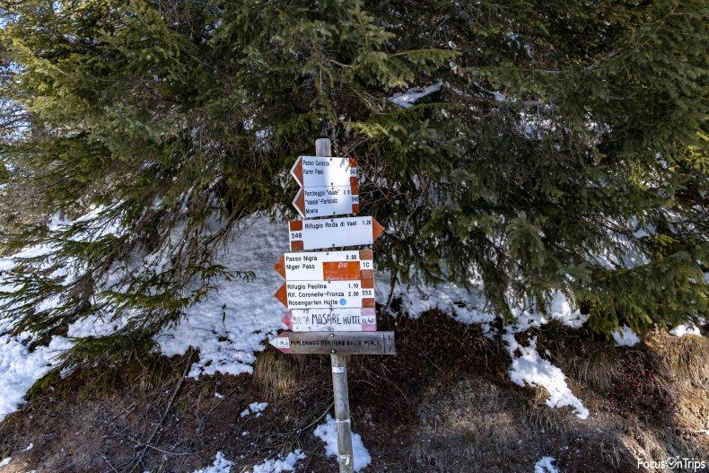 sentiero 548 catinaccio