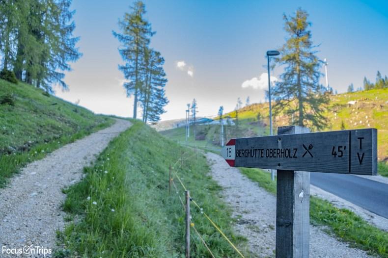 sentiero 18 obereggen