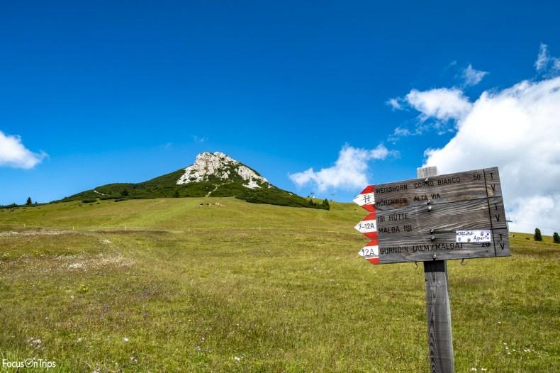 corno bianco trekking