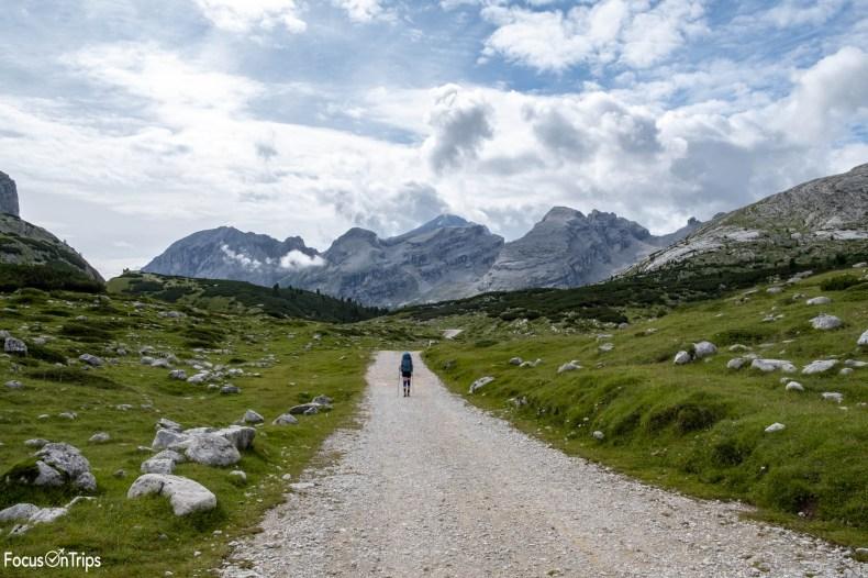 trekking rifugio fanes dolomiti