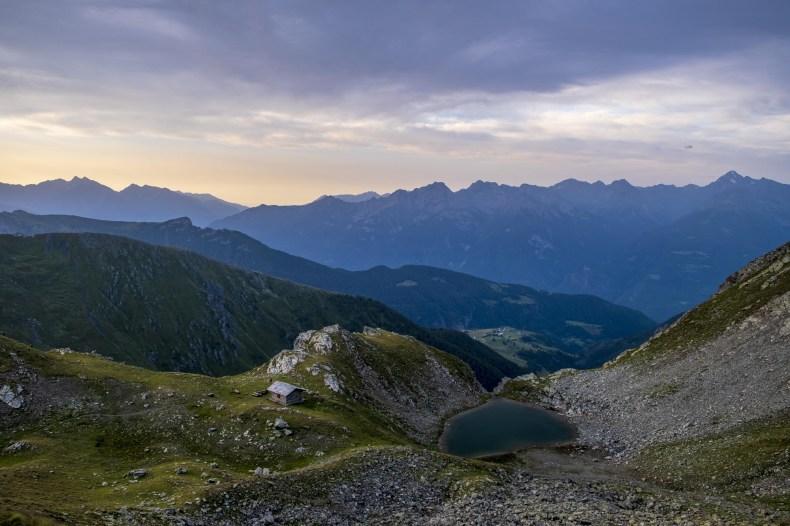 bivacco rosaire clermont valle d'aosta alta via