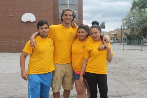 FOY Staff: Jose, Evian, Karina, Jasmine