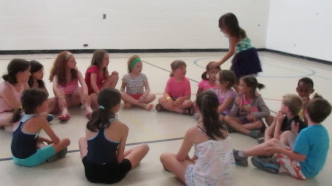 Playing duck, duck, goose