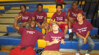Sports staff: (top row from left to right): Pierce (BMT), Robert (BMT), Mikael (BMT), Juwan (BMT) (bottom row from left to right): Joseph (BMT), Christopher (BMT), Gianne (BMT)