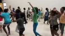Dance class is intense!