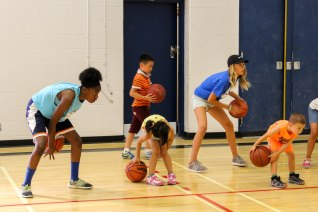 You can't handle these campers' ball skills!