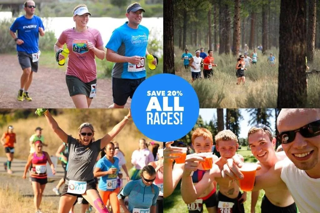 20% off our sponsored races!