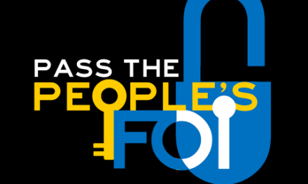 Our dream, our right: Pass the People's FOI Act now!