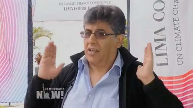 Pablo Solón on COP20 and Carbon Markets