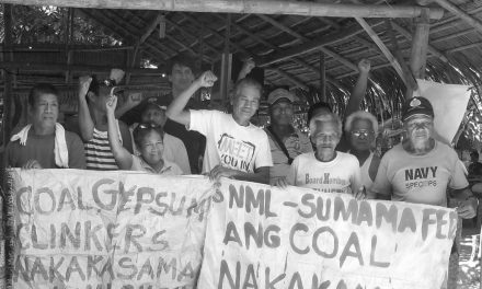 Glory to the Captain: A Photo Essay on Gloria Capitan and the Anti-Coal Movement in Bataan