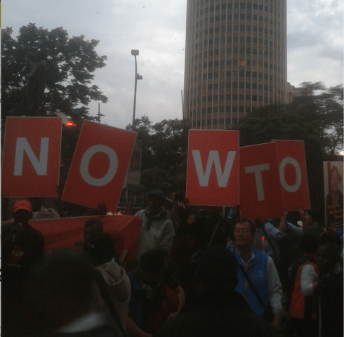 #EndWTO: Unofficial Draft of Agriculture Text at MC10 Big Disappointment
