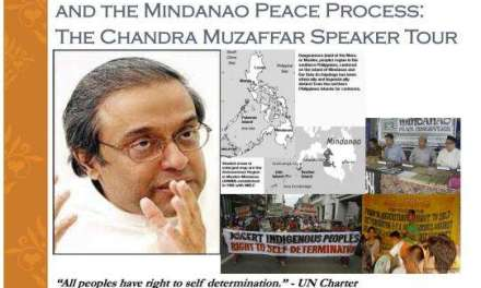 Known Muslim Activist and Academic to Speak on Self-Determination & the Mindanao Peace Process