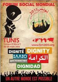 Declaration of the Social Movements Assembly – World Social Forum 2013