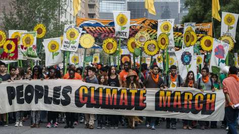 How Did Leaders Respond to the People's Climate March?