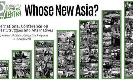 International Conference on People's Struggles and Alternatives