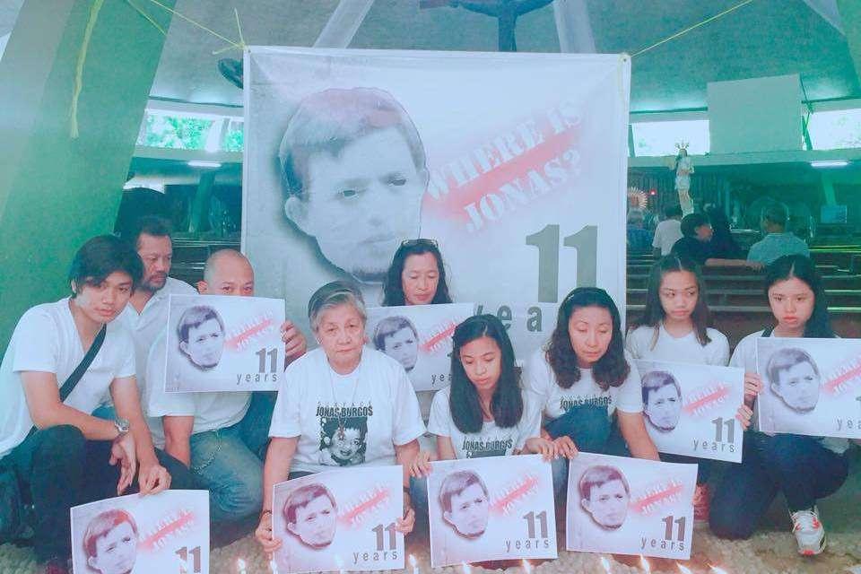 STATEMENT: 11th Anniversary of Jonas Burgos' Abduction